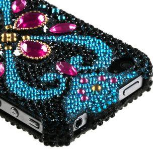 Apple iPhone 4 4S Rhinestone Hard Shell Case Eastern Jewels