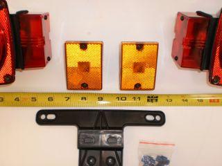Trailer camper Box Stop Turn Tail Light Set Kit
