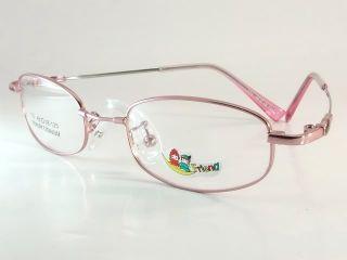 Pink for Kids Memory Titanium Eyeglass Frame E420C
