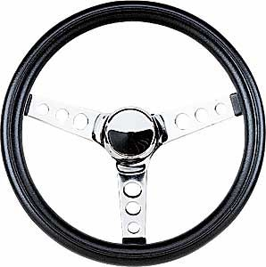 Grant 838 Black Foam Grip Steering Wheel Jegs