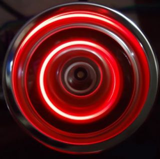 RC 1 10 Car Disc Wheel Hubs Red LED Light Connector