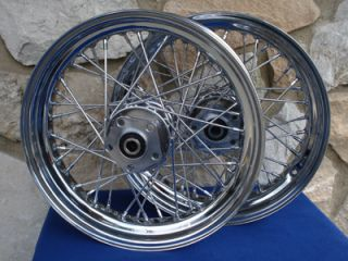 16X3 80 SPOKE WHEEL SET FOR HARLEY HERITAGE CLASSIC AND FAT BOY 1984