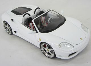 Hot Wheels 1999 Ferrari Spider 360 1 18 Scale Die Cast Model Car