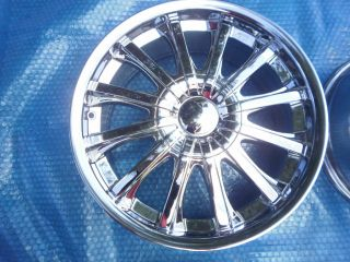 Mercedes Smart Car Fortwo 451 17 Chrome Rims Wheels by Alba