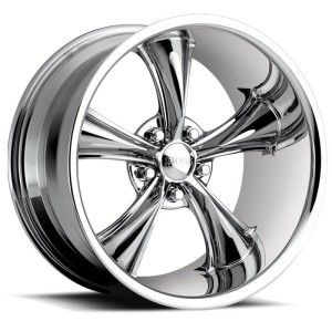 18 inch Staggered Boss 338 Chrome Wheel Rim 5x5 5x127 2