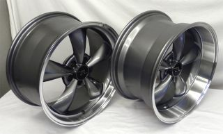 Bullitt 18x9 18x10 Mustang Wheels Deep Dish Bullet Rims 18 Inch