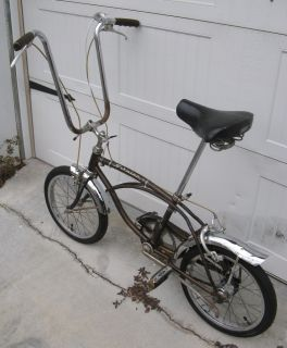 Vintage 1969 Schwinn Sting Ray 3 Speed Run A Bout Stingray Runabout