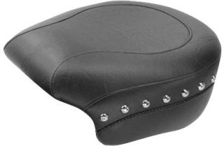 Mustang Wide Studded Rear Seat 75707 Harley Davidson