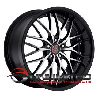 19 MRR RW1 Style Black Wheels Rims Fit BMW M3 2000 E60 F10 5 Series