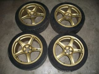 JDM Rcii Advan Racing Rim and Tire ★★★