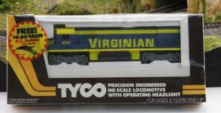 Tyco NIB Alco C430 Virginian and BONUS Remote Control Switch Factory