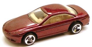 1995 Hot Wheels 264 Lexus Sc400