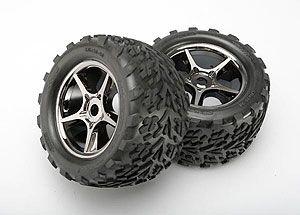 Traxxas 5374X E Revo 1 10 Brushless Wheels Tires