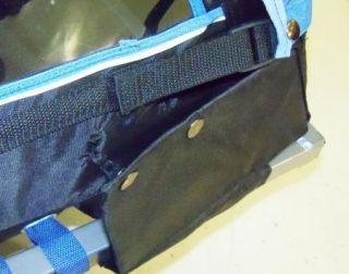 Schwinn Blue Black Double Bicycle Trailer with Conversion Kit SC672