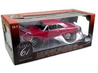 car model of 1970 Dodge Dart Swinger 340 die cast car by Highway 61