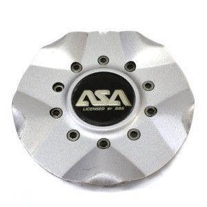 ASA Licensed by BBs Wheels 15 16 Center Cap FWD Silver JS5 8B405