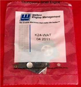 Walbro K24 WAT OEM Carburetor Rebuild Kit Fits WT Carbs use by Echo