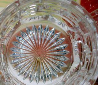 Heisey Signed Crystal 433 Greek Key Round Hotel Sugar Bowl 1912 1938