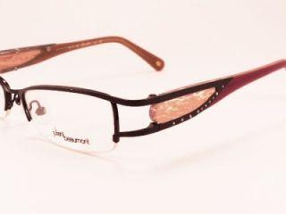 JB 673 50 17 130 Black Half Rim Womens Designer Glasses Frames