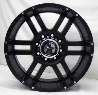 Wheels 20x9 Dodge Trucks 8 Lug Matte Black 20 inch Rims 2500