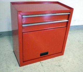 Wel Bilt 5 Drawer Tool Box Chest Combo w Wheels 24in