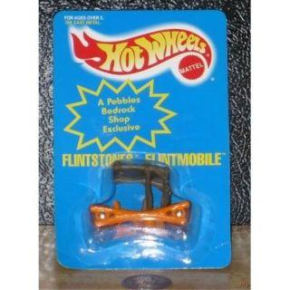 Pebbles Hot Wheels Flintstones Car Bam Bam Dino