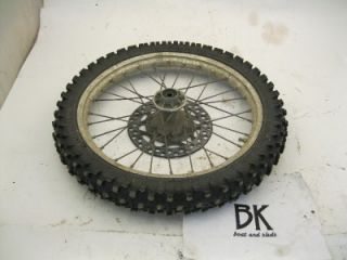 1994 Kawasaki KX 80 Front Tire Wheel Rim Used Dirtbike