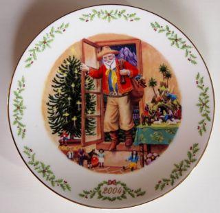 1992 04 Lenox International Victorian Santa Claus Full Set 13 Plates