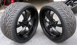Bullitt Wheels 20x8 5 20x10 Wide Tires 2005 2012 Rims 20 Dish