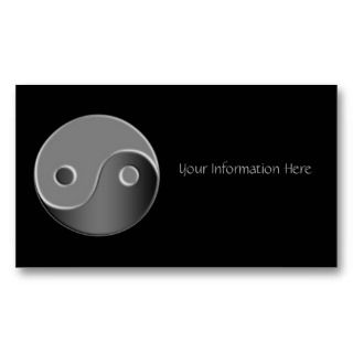 Yin Yang Business Cards