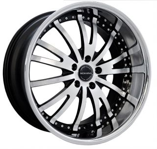 20 Rohana Wheels RL08 Machine is350 G35 Ford Mustang