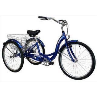 Schwinn 26 Meridian 3 Wheel Tricycle Bike Bicycle New