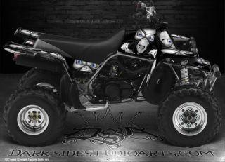 Yamaha Banshee ATV Graphics The Demons Within Black Model