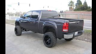 Fuel Off Road Black Wheels 20 x 12 Octane Chevy GMC 1500 Toyota Tacoma