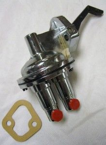 Big Block V8 361 383 400 426 460 Chrome Mechanical Fuel Pump