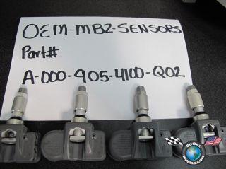 Factory TPMS Tire Pressure Monitoring Sensor A 000 905 4100 Q02 433
