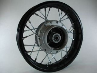 10 FRONT Rim for pit bikes running a drum brake. Fits Honda CRF50 and