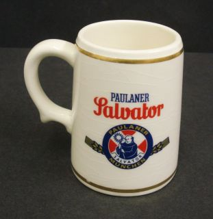Paulaner Ceramic Decorative Stein Beer Jug Mug Tankard Limited