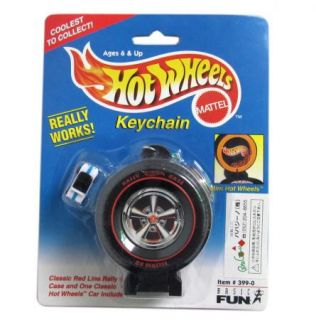 Black Coolest Hot Wheels Keychain with A Car WJ2048