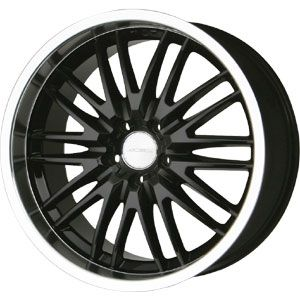 New 18X8 5 120 Matrix Gloss Black Machined Wheel/Rim