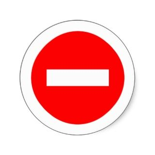 STOP Sign Products & Designs Stickers