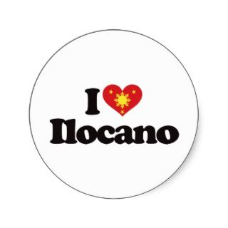 Love Ilocano Sticker