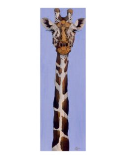 Cross eyed giraffe Giclee Print by LISA BENOUDIZ