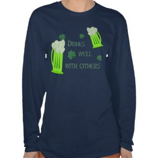 St Patricks Day Drinks Well Shirt