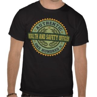 Authentic Health and Safety Officer T Shirts