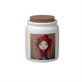 Dark Fairy Tale Character 14 Candy Jar