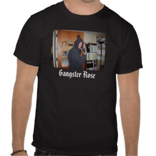 Gangster Rose Tee Shirts
