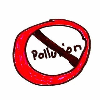 stop pollution Photo Sculpture