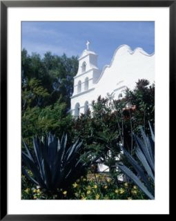 Mission, San Diego, California Pre made Frame