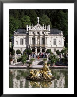 Linderhof Castle, Bavaria, Germany Pre made Frame